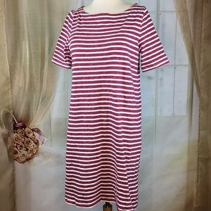 Gap Striped T-shirt Dress